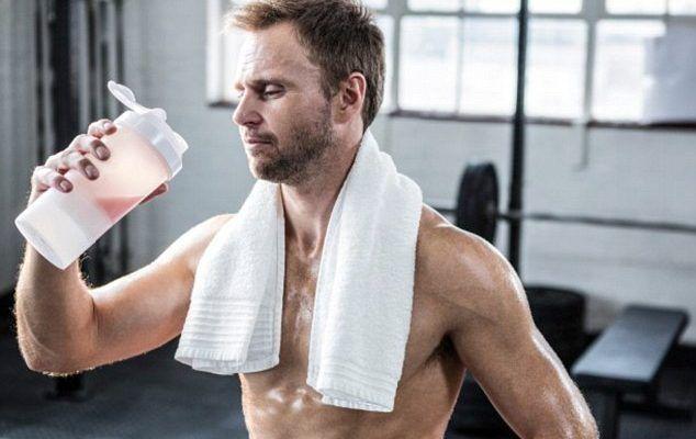 Taking Protein Shakes