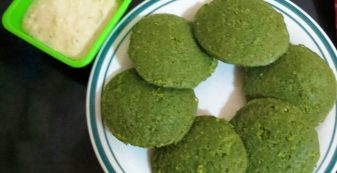 Green Idli recipe